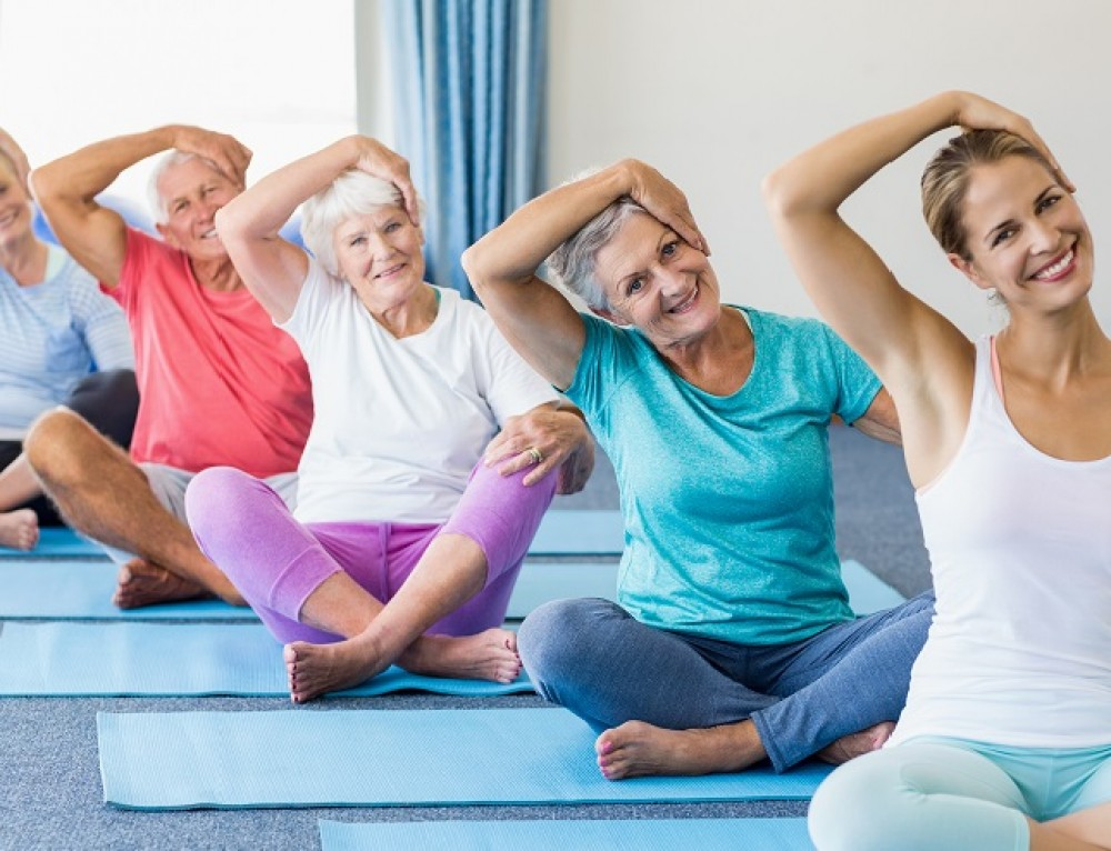 10 Benefits of Restorative Yoga Practice for Older Adults