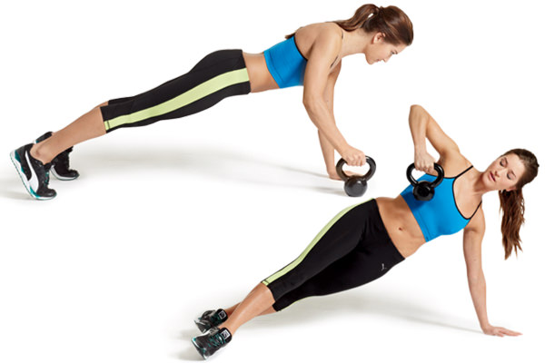 Kettlebell Exercises for Abs