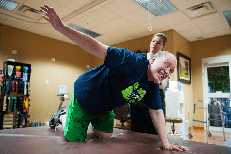 parkinsons patients exercise for mobility